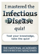 I mastered the Infectious Disease quiz.