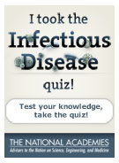 I took the Infectious Disease quiz.